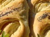 """Baguettes feuilletées """"tourbillon"""""""