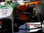Force India modifie rétros pour Istanbul