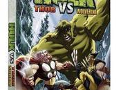 Test Hulk versus Thor Wolverine