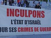 Manifestation contre Israël