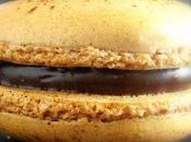 Macarons chocolat noir carambar
