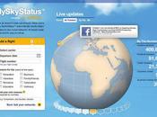 MyskyStatus, opération innovante lancée Lufthansa exploitant réseaux sociaux
