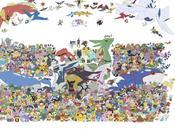grande photo famille Pokémon Cheese