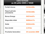 Orange Gérer compte avec application iPhone