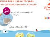 maillot couche Piwapee: système anti fuite breveté vraiment efficace