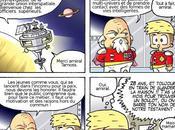 Travail strips Cosmozone pour l'édition