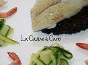 Filet Lieu Noir Impérial, Tagliatelles Courgettes Crevettes