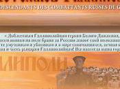 Union descendants combattants russes Gallipoli
