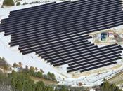 Inauguration d'une centrale solaire dans Vaucluse