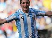 Groupe victoire l'Argentine buts contre Corée avec hat-trick Gonzalo Higuain, l'Albiceste qualifiée pour huitièmes finale