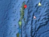 Îles d'Andaman frappées séisme majeur magnitude 6,1, Juin 2010.