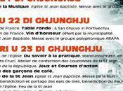 Fête Saint -Jean Porto-Vecchio programme semaine.