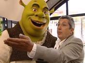Shrek était making tournage côté d'Alain Chabat