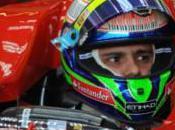 Felipe Massa test dans simulateur Ferrari