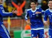 Groupe défaite Grèce buts contre l'Argentine termine première groupe