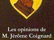 Opinions Jérôme Coignard Anatole France