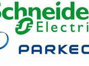 Schneider Electric Parkeon partenaires pour développer système recharge véhicules électriques