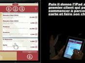 L'iPad guise menu restaurant