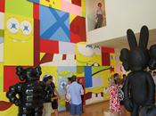 Kaws aldrich contemporary museum opening
