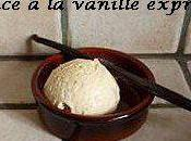 Glace vanille express