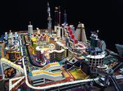 L'expo semaine Dreamlands. parcs d'attractions cités futur Centre Pompidou