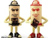 Obey spray vinyl figure