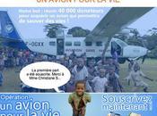 """Aviation Sans Frontière avion pour vie"""""""