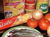 mange quoi demain? tarte sardine tomate