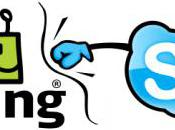Skype bloque Fring friture ligne VoIP