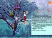 graphiste site création pour spectacles l'arbre fous