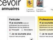 désabonner annuaires papiers pages jaunes