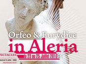 """Orfeo Eurydice"" Aléria vendredi week-end programme."