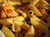 Salade tricolore mimolette parmesan