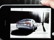 Audi invite réalité augmentée dans calendrier