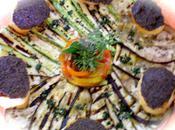 Legumes grilles soleil croutons tapenade ....