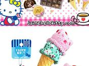 Coup coeur :Hello kitty Sweets Cafe cornets glace