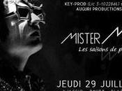 """Mister Mystère"""" concert soir 21h30 Théâtre Verdure Casone d'Ajaccio"""