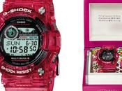 Takashi murakami casio g-shock frogman watch