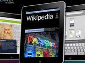 Discover transforme Wikipedia magazine grâce l'iPad