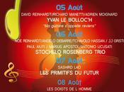 Festival Coti-Chiavari jeudi lundi prochain programme.