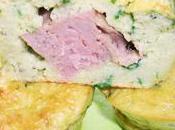 Moelleux pommes terre, ciboule pâté Hénaff
