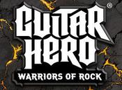 tracklist complète Guitar Hero Warriors Rock
