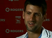 Master Toronto 2010 vidéo interview Novak Djokovic (08/08/2010)