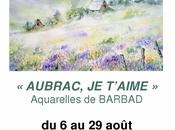 Aubrac t'aime Exposition Barbad Queaux (Vienne)