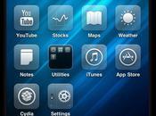 Glasklart thème pour iPhone