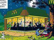 Publicité Donald Astérix s'est vendu César