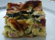 clafoutis courgettes jambons