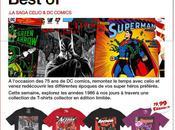 Emailing Celio annonce partenariat avec Comics