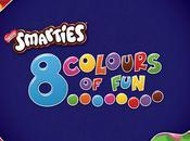 Smarties: colours