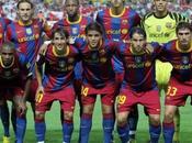 Barcelona 2010 Equipe contre Seville